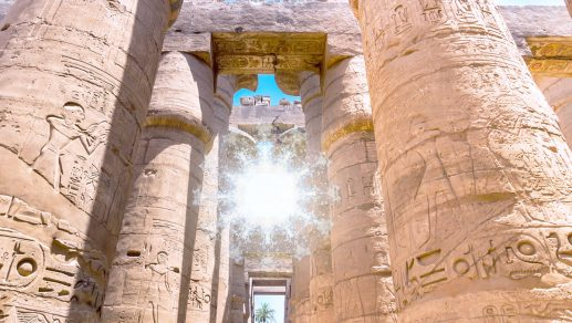 Ascension Temple at Luxor
