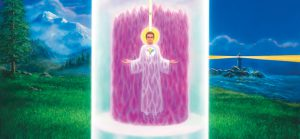 Using the violet flame to remember etheric retreat experiences