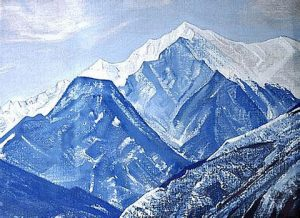 White Himalayas Roerich